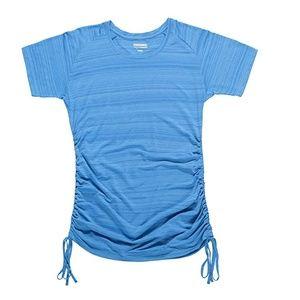 Zorrel Athletic Drawstring Tee Top XL